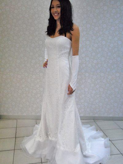 Poročna obleka Diora